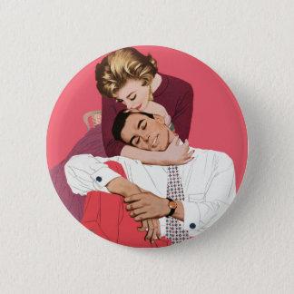 Pin's Histoires d'amour vintages, nouveaux mariés dans
