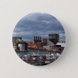 Pin's Horizon de crépuscule de Baltimore