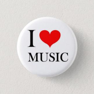 Pin's I musique de coeur