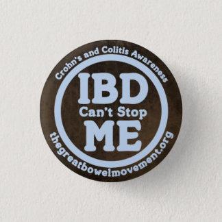 Pin's IBD ne peut pas m'arrêter bouton