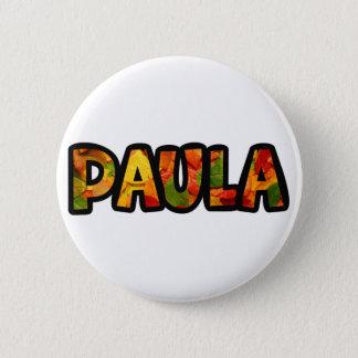 Pin's Il effiloche Paula classique
