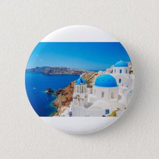Pin's Île de Santorini - caldeira, Grèce