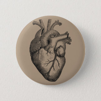 Pin's Illustration vintage de coeur