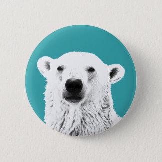 Pin's Insigne de bouton d'ours blanc
