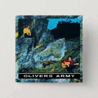 Pin's Insigne de couverture de PE d'armée d'Olivers