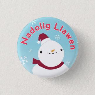 Pin's Insigne de Pin de bouton de Gallois de Noël de