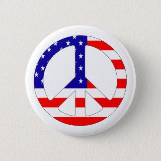 Pin's Insigne de Pin de bouton de signe de paix de
