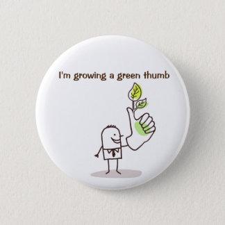 Pin's Insigne - élevage d'un pouce vert