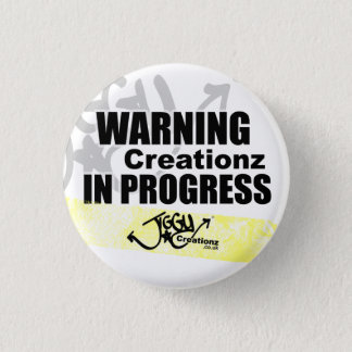 Pin's Insigne en cours de avertissement de Creationz