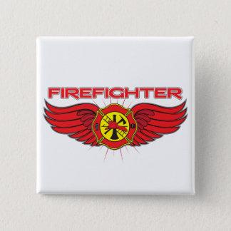 Pin's Insigne et ailes de sapeur-pompier