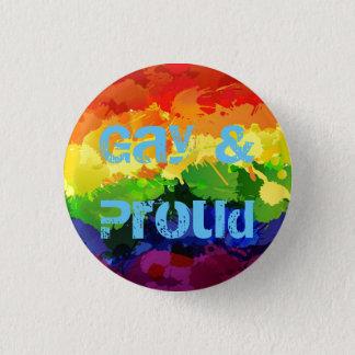 Pin's Insigne gai et fier de LGBT
