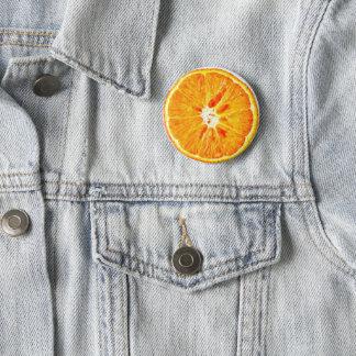 Pin's Insigne orange de tranche