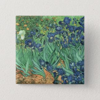 Pin's Iris de Vincent van Gogh |, 1889