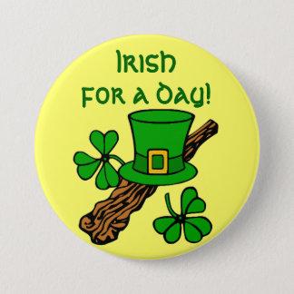 Pin's Irlandais pour un bouton de jour