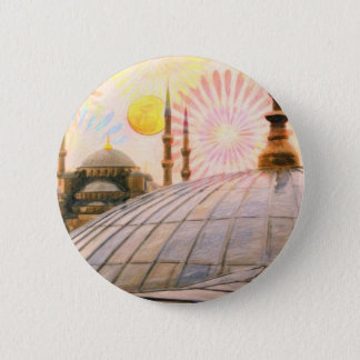 Pin's Istanbul pluvieux