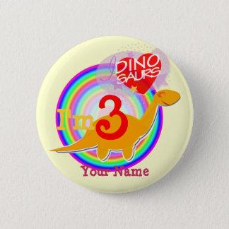 Pin's J'ai 3 ans que l'anniversaire célèbrent le