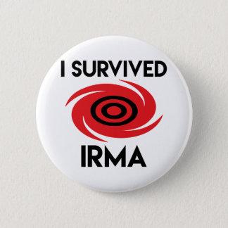 Pin's J'ai survécu à Irma