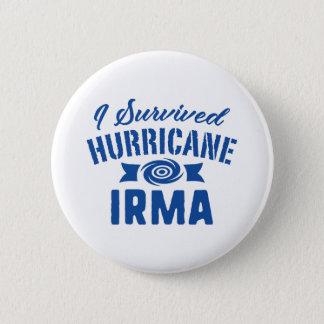 Pin's J'ai survécu à l'ouragan Irma