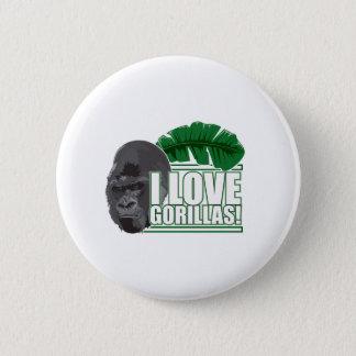 Pin's J'aime des gorilles