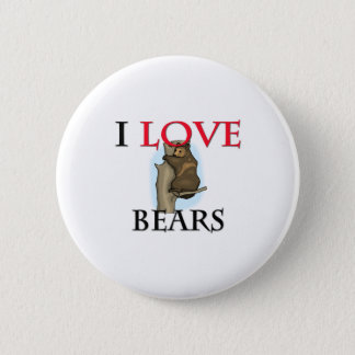 Pin's J'aime des ours