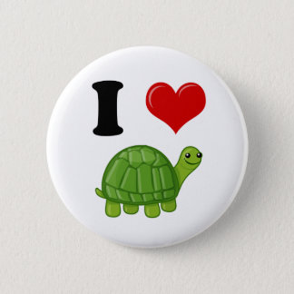 Pin's J'aime des tortues