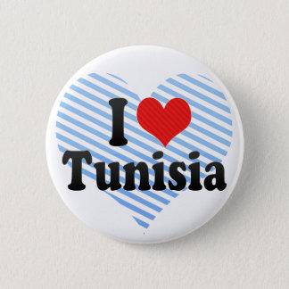 Pin's J'aime la Tunisie
