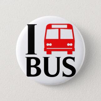 Pin's J'aime l'amour de l'autobus | I l'autobus de
