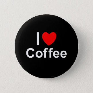 Pin's J'aime le café de coeur