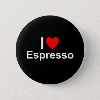 Pin's J'aime le café express de coeur