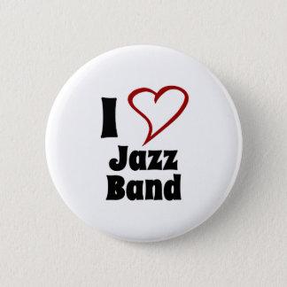 Pin's J'aime le jazz-band