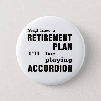 Pin's Je jouerai l'accordéon