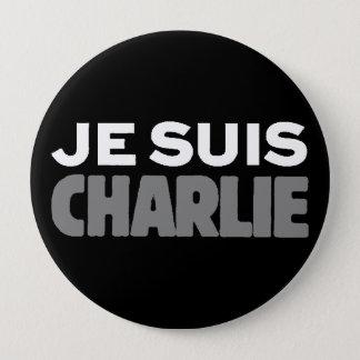Pin's Je Suis Charlie - je suis noir de Charlie