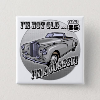Pin's Je suis les 85th cadeaux d'anniversaire classiques