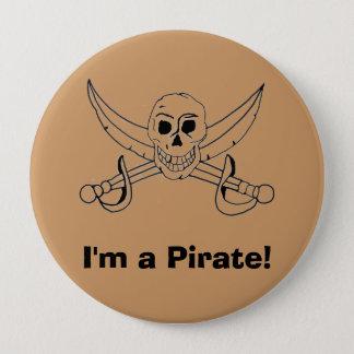Pin's Je suis un pirate !