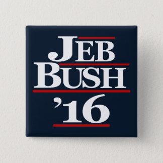 Pin's Jeb Bush 2016 boutons de campagne