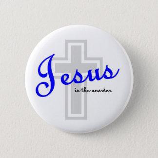 Pin's Jésus est la réponse