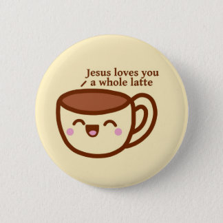 Pin's Jésus vous aime un insigne entier de goupille de
