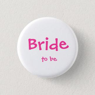 Pin's Jeune mariée à être bouton