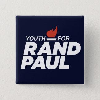 Pin's Jeunesse pour le bouton carré de campagne de Paul