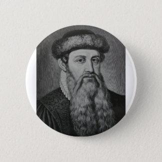 Pin's Johannes Gutenberg