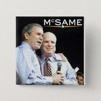 Pin's John McCain = George W. Bush