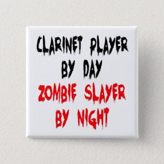 Pin's Joueur de clarinette de tueur de zombi
