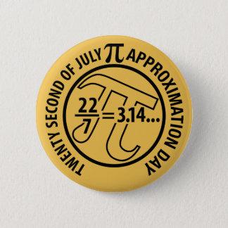 Pin's Jour d'approximation de pi