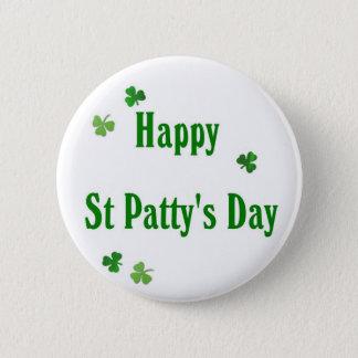 Pin's Jour de la St Patrick heureux