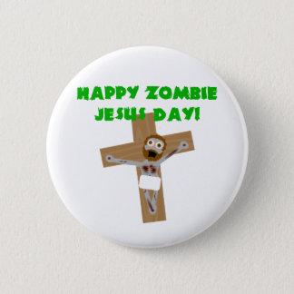 Pin's Jour heureux de Jésus de zombi