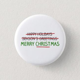 Pin's Joyeux Noël, pas Bonnes Fêtes