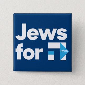 Pin's Juifs pour le bouton de Hillary