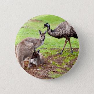 Pin's Kangaroo_And_Emu, _