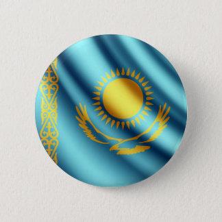 Pin's Kazakhstan ondulant le bouton de pinback de