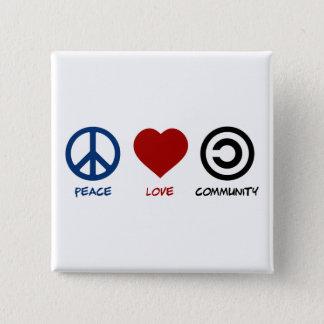 Pin's La Communauté d'amour de paix